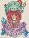 Br0k3n Ragd0ll and Sapphire Studios Collab by KSapphire8989