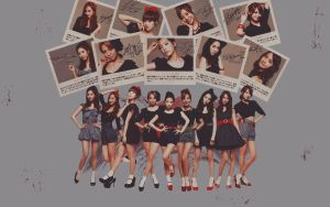 SNSD wallpaper 10 by NiiaChaan