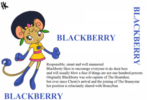 CandyCat Character Bios: Blackberry by MuNafusa