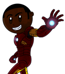 Me In The Iron Man Suit Colour 2.0 by TheHypersonic55