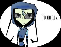 IZ OC: Technetium by Cutediepie