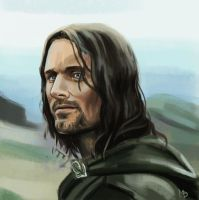 Aragorn by M-Whistler