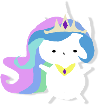 Cute chubby Celestia Vector by JTJP