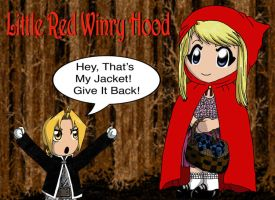 Chibi Red Winry Hood by edwinluvr