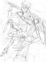 DGM - fearsome foursome 2 by majochan