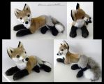 Proto Laying Red Fox by SarityCreations