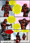 Deadpool Loves Snake Valentine by Jordith