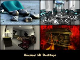 Unusual 3D Desktops by chromosphere