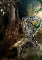Medusa Vs Hulk21 by souradeep-misra