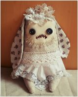 "Zombie Hase ""Bride"" front by RevelloDrive1630"