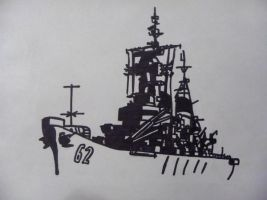 USS New Jersey Sharpie by wyoairbus