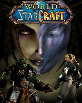 World of StarCraft_front by Persi