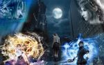 FF VERSUS XIII LARGE WALL by Darsephtan