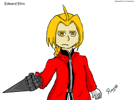 Edward Elric by RayyRayy101