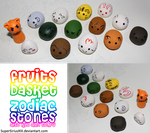 Fruits Basket Zodiac Stones by SuperSiriusXIII