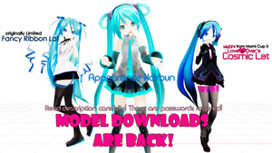 ALL MY MODEL EDITS -NEW DOWNLOADS by asparagusApparatus