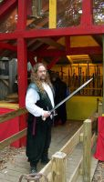 Man with Sword Stock by WKJ-Stock
