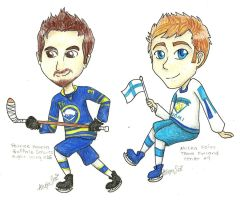 Hockey Chibi Requests 2 by flamingmarshmallows