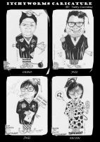 itchyworms caricature by yatoy