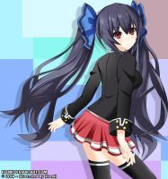 Noire (School Uniform) by KeenH