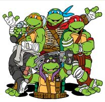 Classic TMNT Bayified by DLTabor
