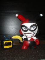 Harley Quinn Munny by VODKABABY