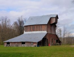 Barns in Southern Indiana by uncledave