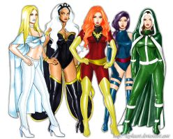 X-Women by PsychedelicHeroin