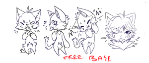 Rude Cat base (remade !) by crowmap