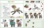 Benny Refrence sheet by griffsnuff