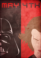 Join the Darkside. May the Fourth. by BantamArt