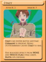 Italy card by Inochikage