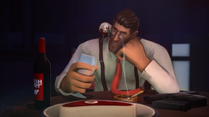 SFM Poster: The Depressed Medic by PatrickJr