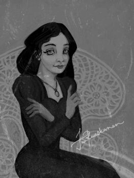 Morticia by Fragile-yet-CunNINg