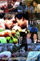 Leigh Whannell and Cary Elwes by Gingericecube