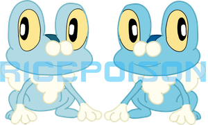 Funky Froakie Fellows by RicePoison