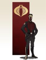 Cobra Commander by Weidel