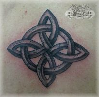 Cracked Celtic by state-of-art-tattoo