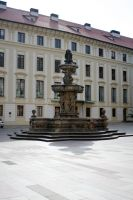 fountain of Prague Castle by fairytale-gone-bad