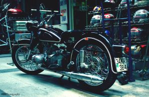 BMW Motorcycle by hrnphotography