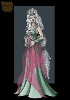 pregnant silverrose-commission by nightwing1975