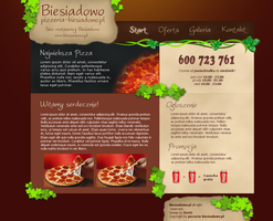 Pizzeria Design by sarigalae