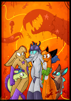 Trick or treat by Roxalew