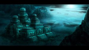 Environment Painting 01 by meiji1990
