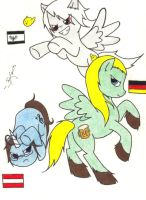 MLP Germans Coloured by The-sKapegoat
