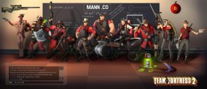TF2 Contest entry- Group Shot by halmtier