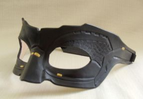Leather Catwoman Mask from The Dark Knight Rises by senorwong