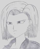 Android 18 by KentuckyRedneck