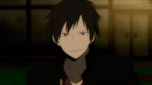 DRRR-Shizaya First Met[GIF] by Madame--Black