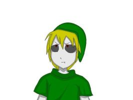 Ben Drowned on paint by TheMidnightNightmare